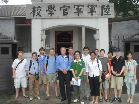Group At Whampoo Military Academy