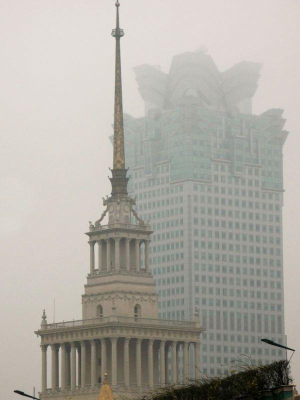 Eri Shanghai Haze Environment