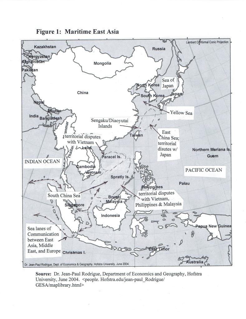 Garver Maritime Map
