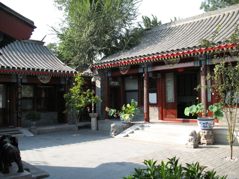 Chinese Courtyard Housing Under Socialist Market Economy