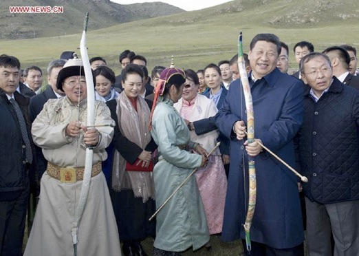 Xi Jinping Bow Arrow
