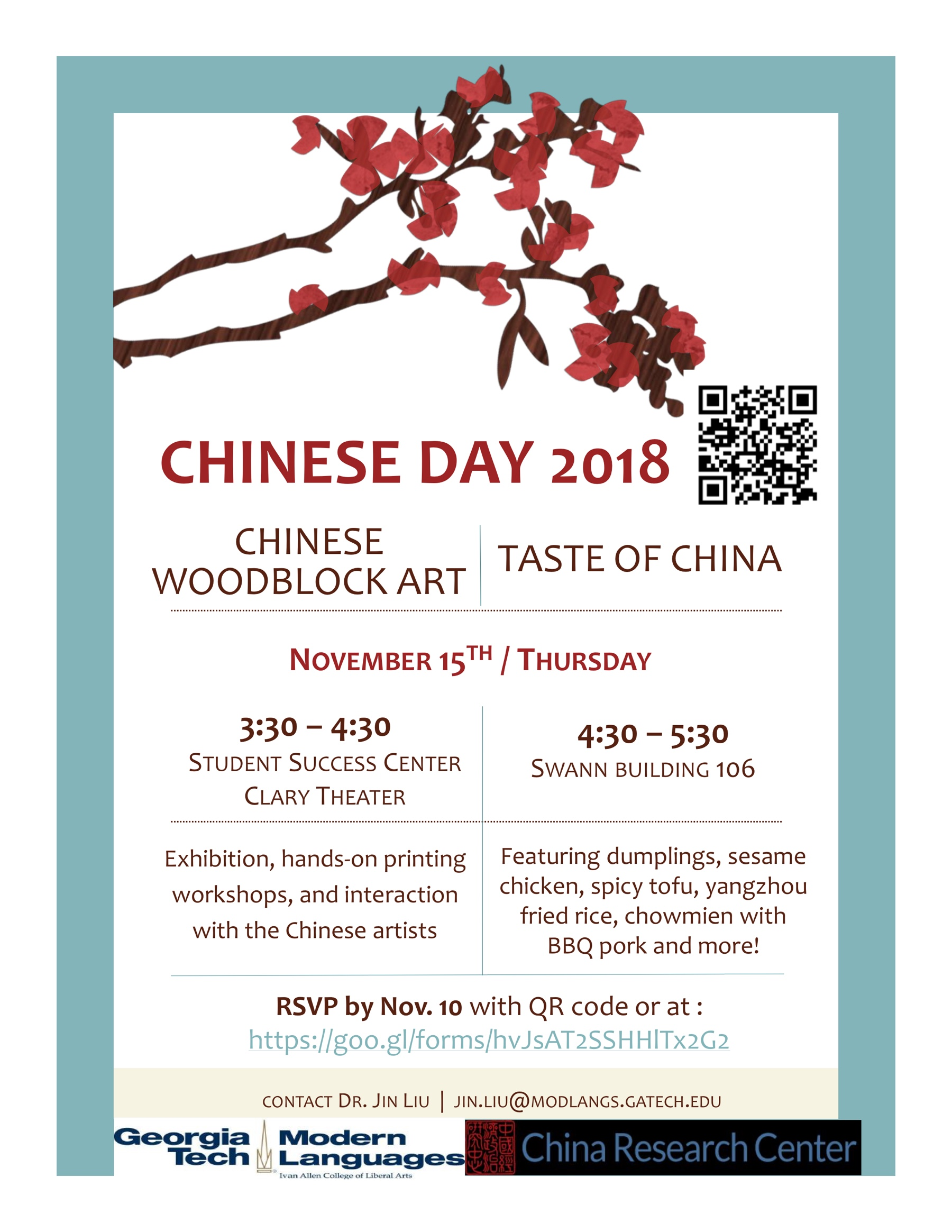 Chinese Day Flyer 2018