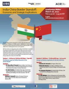 Webinar: India-China Border Standoff: Economic and Strategic Implications