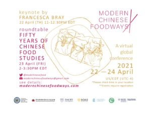 Fifty Years of Chinese Food Studies