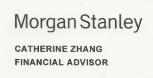 Morgan Stanley CZhang